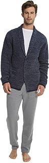Barefoot Dreams CozyChic Men's Shawl Collar Cardigan, Menswear Fashion Sweater