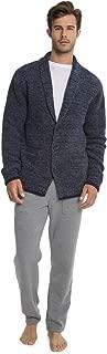CozyChic Men's Shawl Collar Cardigan, Menswear Fashion...