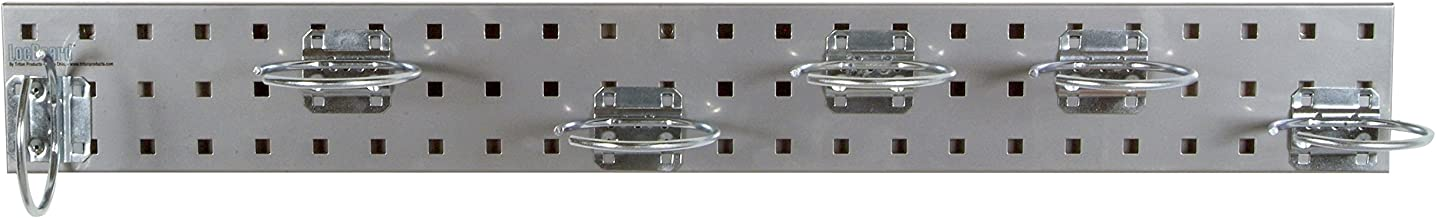 Locboard LBS36P-SLV Gümüş basınçlı hava Alet Hldr Pegboard kiti,