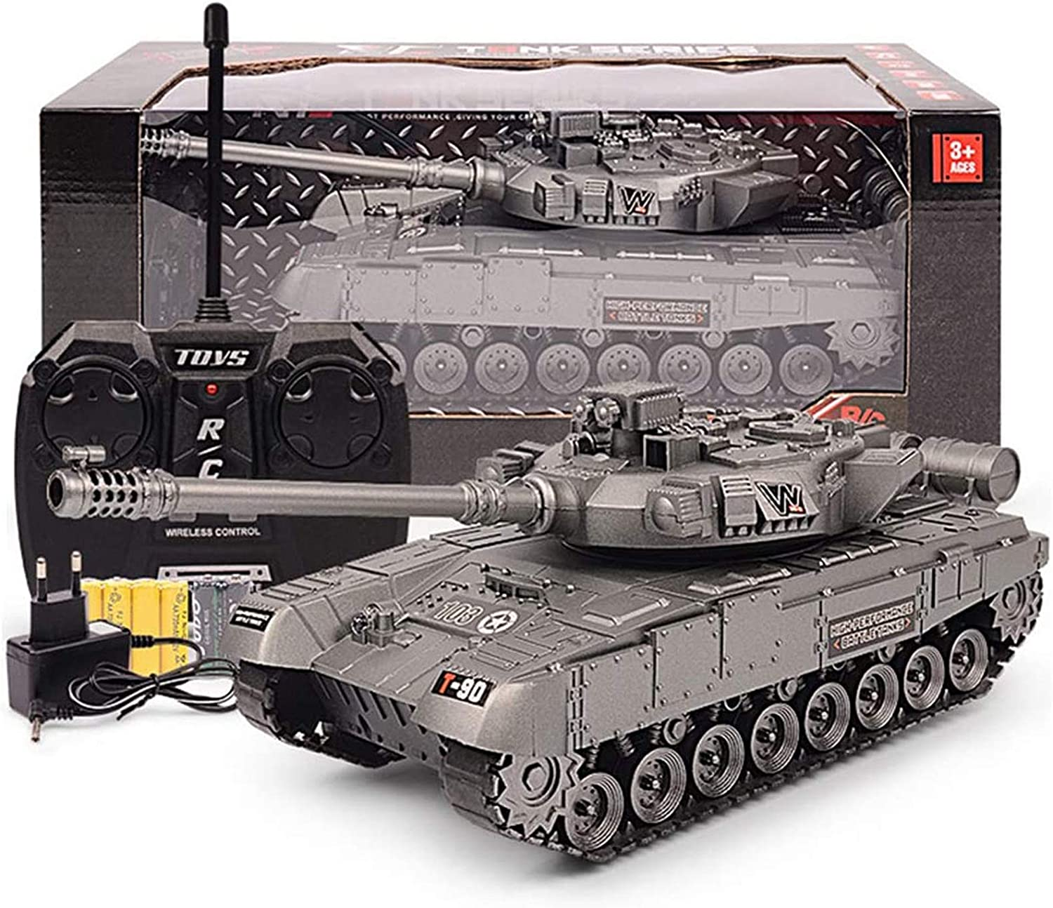 1 24 RC Tank Toys Airsoft Battle Remote Panzer Dedication 2.4Ghz Long-awaited