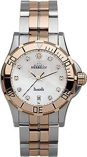 Michel Herbelin - Reloj Analogico para Unisex de con Correa en Acero Inoxidable 12591/T5R89B