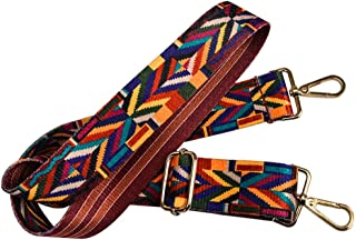 Wide Strap 122 cm Replacement Guitar Style Multicolor Crossbody Strap for Handbags