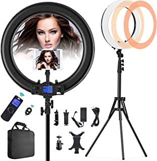 Ring Light with Wireless Remote and iPad Holder, Pixel 19
