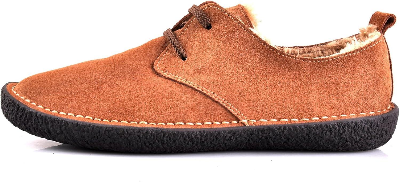 Santimon herrar Nubuck läder mocka Causal Leisure skor