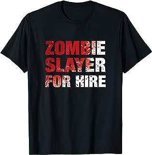 Halloween Zombie Slayer Costume T-Shirt
