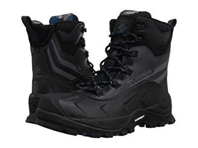 Columbia Bugaboot Plus IV Omni-Heat (Black/Phoenix Blue) Men