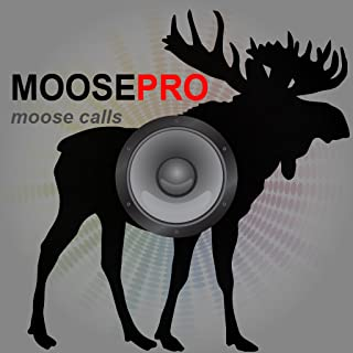 REAL Moose Calls App for Moose Hunting and Big Game Hunting - BLUETOOTH COMPATIBLE