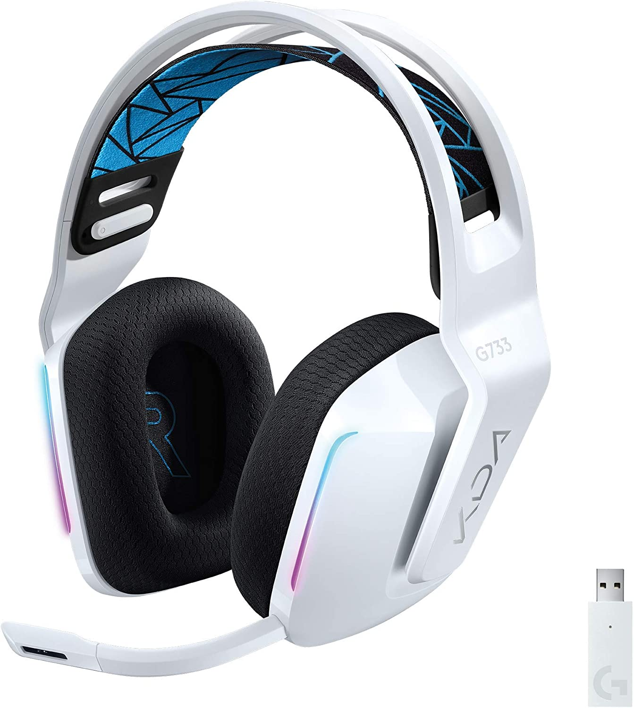 Logitech New Orleans Mall G733 K DA Denver Mall Lightspeed Gaming with Headset Suspe Wireless