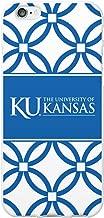 OTM Essentials University of Kansas, Elm Band Cell Phone Case for iPhone 6/6s - White