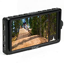 EVO Gimbals M1 5 Inch Camera Field Monitor for Mirrorless or DSLR Cameras and Stabilizers - Compatible with Sony, Panasonic, Canon, Nikon Cameras, 5 inch IPS 1920x1080 HD, HDMI 4K Input-Output