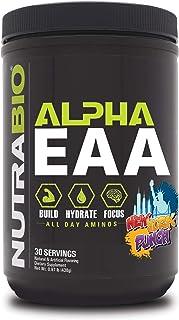 NutraBio Alpha EAA - 30 Servings (New York Punch)