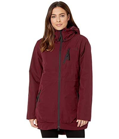 The North Face Millenia Insulated Jacket (Deep Garnet Red) Women