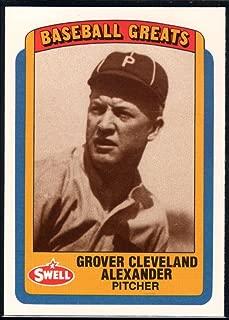 Baseball MLB 1990 Swell Greats #30 Grover Cleveland Alexander Phillies