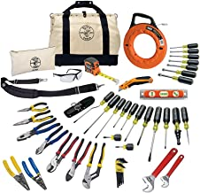 Tool Set with Utility Knife, Adjustable Wrenches, Screwdrivers, Pliers, and More, 41..