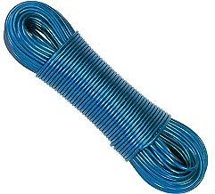 CrazyGadget® - Cable para Tender al Aire Libre, núcleo de Acero metálico, Fuerte para el jardín, de PVC, para Prendas de lavandería, 50m