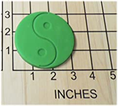 Yin Yang Shaped Fondant Cookie Cutter and Stamp #1166