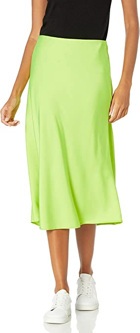 The Drop Women's Maya Silky Slip Skirt