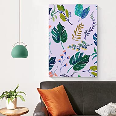 Vamabore Plants & Trees Hanging Picture Artwork Painting Wall Decration