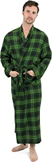 Leveret Mens Flannel Robe Christmas Robe (Size Small-XXX-Large)
