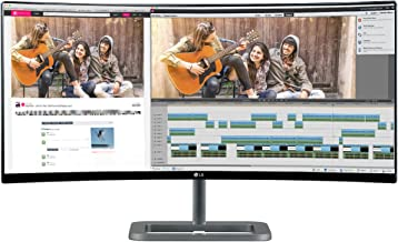 LG Electronics 34UC87C 34-Inch Screen Ultra Wide Curved LED-Lit Monitor