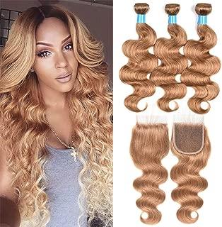 copper hair bundles