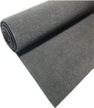 A//T C10BK 10-Feet Long//4-Feet Wide Black Carpet for Speaker Sub Box Carpet