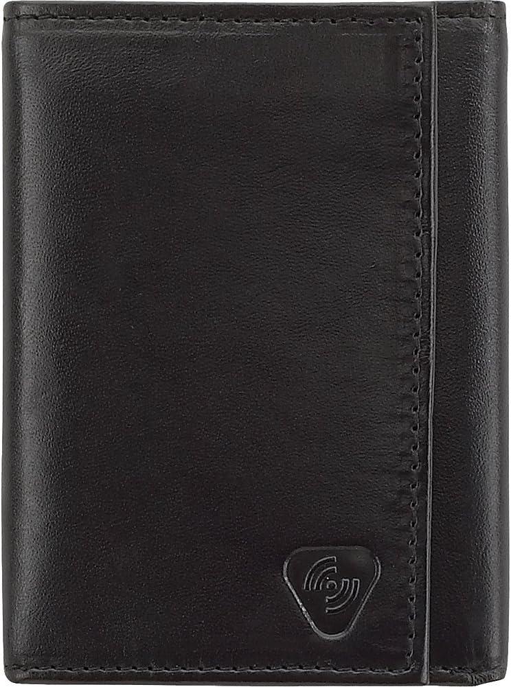 Lewis N. Clark Women's Trifold Wallet, Black, Trifold Wallet