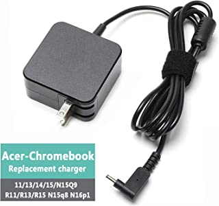 45W Replacement Charger for Acer-Chromebook-CB3 CB5 11 13 14 15 R11 R13 A13-045N2A N15Q9 C731 C738T CB3-532 CB3-431 CB3-131 PA-1450-26 Laptop Power-Supply-Cord