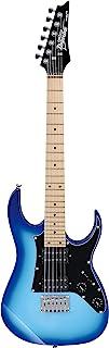Ibanez GRGM 6 رشته گیتار برقی جامد بدنه ، راست ، ترکیدگی آبی (GRGM21MBLT)