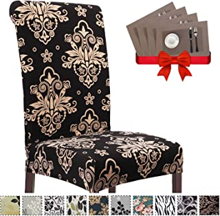 Best elastic dining chair covers Reviews