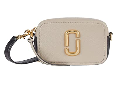 Marc Jacobs The Softshot 17 Crossbody (Cement Multi) Cross Body Handbags