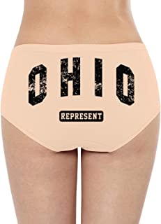 Colorado Day CWomens Bikini Panty Super Soft Cotton Stretch Quick Dry Breathable Breathe Bikini Panties