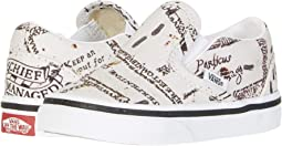 (Harry Potter) Classic Slip Marauders Map/Classic White