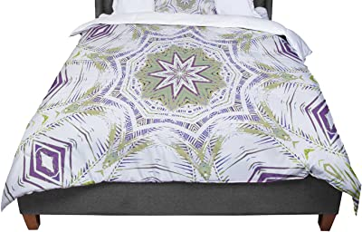 Cal King Comforter 104 X 88 KESS InHouse Suzie Tremel Flutter Floral Red Petals King