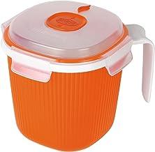 Snips Microwave Milk, Tea and Soup Mug Warmer 0.7L, Orange
