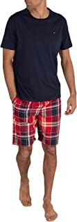 Tommy Hilfiger Men's Cn Ss Short Woven Set Check Pyjama