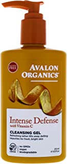 Avalon Organics Vitamin C Refreshing Cleansing Gel, 251 ml