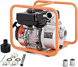 Goplus Gas-Powered Water Transfer Pump 7 HP 4-Stroke Flood Irrigation 158-Gallon-Per-Minute 208cc Engine Portable Water Pump (2-Inch)