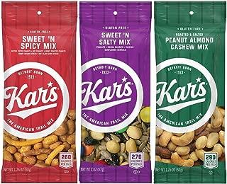 Kar's Nuts Variety Mix - Sweet 'n Spicy Mix, Sweet 'n Salty Mix, Peanut Almond Cashew Mix (48 bags)