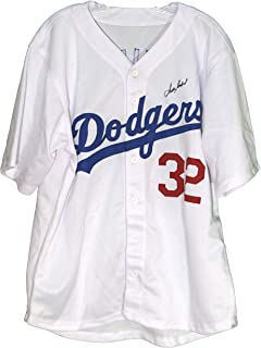 Sandy Koufax Los Angeles Dodgers Signed Autographed White #32 Custom Jersey LOA COA
