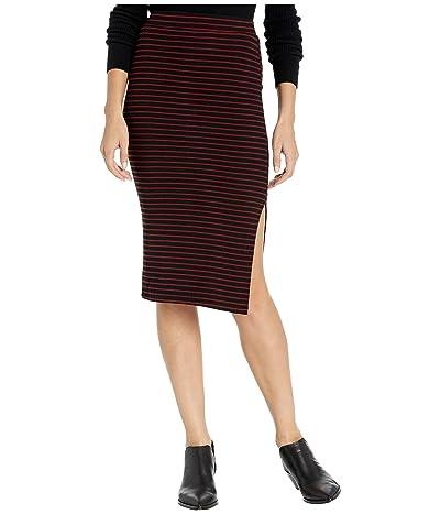 Sanctuary Essentials Skirt (Red Jasper Stripe) Women