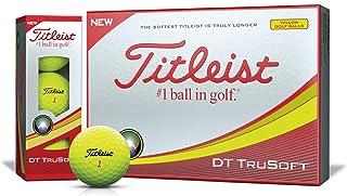 TITLEIST(タイトリスト) ゴルフボール 2018 DT TRUSOFT 2ピース 12個入り イエロー T6133S-J