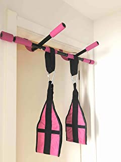 SOTASTIC Pull Up Bar for Doorway, Adjustable Push Up Dip Up Exercise Doorway Bar, Home Gym Fitness Doorway Work Out Steel Bar