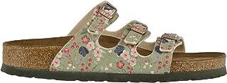 Unisex Florida Soft Footbed Meadow Flowers Birko-Flor Sandals