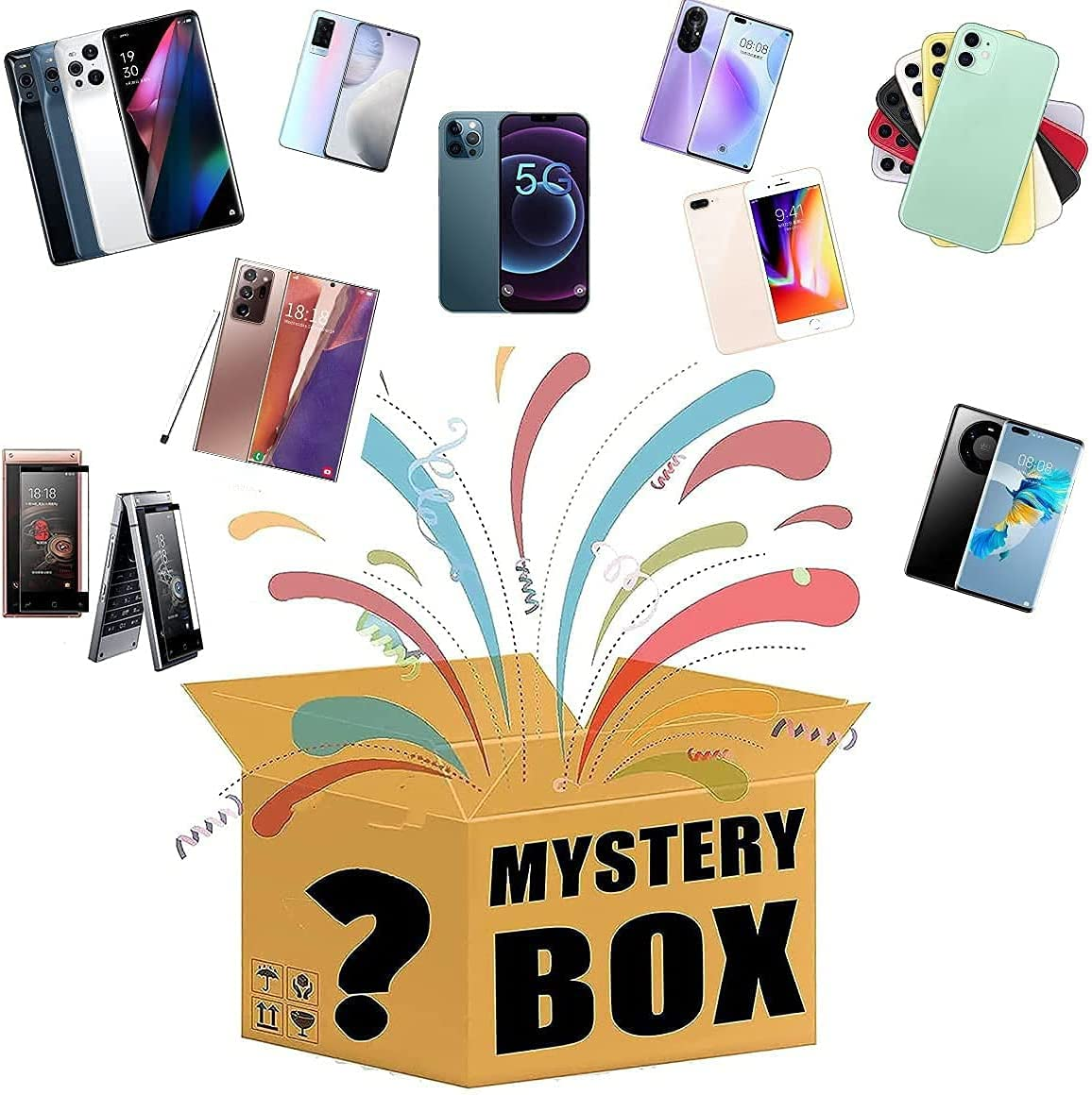 Mystery Shipping included Box Electronics Boxes Random Ranking TOP11 Surprise Birthday