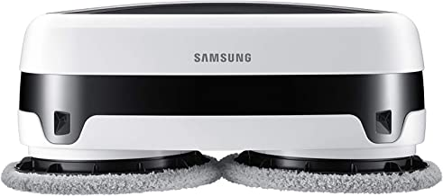 Samsung Electronics VR20T6001MW/AA Samsung Jetbot Robotic Cleans with Dual Spinning Microfiber Pads | Smart Sensor Wet Mop...