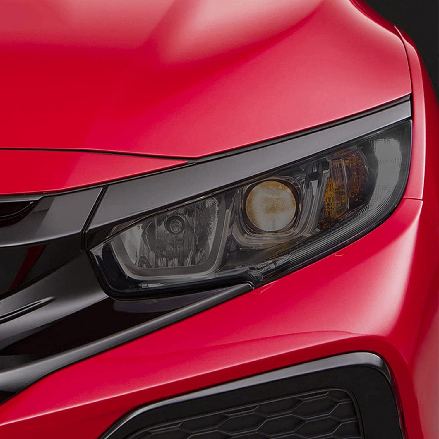 BTOEFE Car Headlight Protective Film 70% OFF Outlet Transparent Smo Front Minneapolis Mall Light
