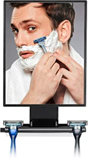 backlit shaving mirror