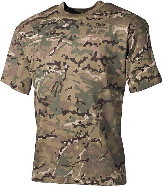 MFH Enfants T-shirt opération-camo Mi-Enfants Shirt Militaire Outdoor Loisirs