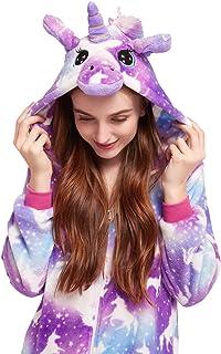 Best Licorne Unisex Adult Pajamas, Cosplay Christmas Unicorn Sleepwear Onesies Outfit Review
